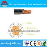 Nylon кабель одиночного кабеля изоляции PVC куртки медный