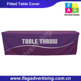 tampa de tabela da feira profissional da impressão de cor cheia de 6FT ou de 8FT, anunciando o Throw da tabela