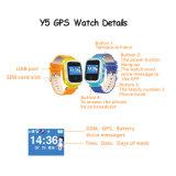 GPS+Lbs 위치 (Y5)를 가진 아이 GPS 시계는 이중으로 한다
