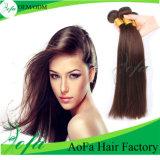 A melhor luz do preço - extensão humana malaia marrom do cabelo do Virgin