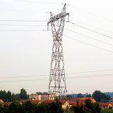 Башня передачи силы угла 220 Kv стальная (стеклянный тип)