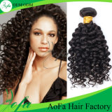 Prolonge brésilienne profonde de cheveux humains de Vierge d'armure de cheveu de l'onde 7A/8aremy