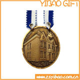 Alta qualità Antique Brass Metal Medal per Events (YB-m-026)