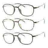 Optische Frame van uitstekende kwaliteit van het Oogglas Ultem het Plastic Eyewear met Slank Roestvrij staal 3305