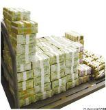 Il più nuovo marchio ha stampato Kraft 30mm di nastro di carta per uso della Banca soltanto