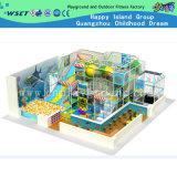 Крытый замок детей спортивной площадки для игры малышей (H13-7028)