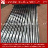 Hoja acanalada galvanizada SGCC del material para techos para el material de construcción