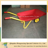Solid Wheel (WB0102)를 가진 높은 Quality Kids Wheelbarrow