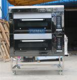 2 Schichten und 4 Tellersegment-Gas-luxuriöser Plattform-Ofen (ZMC-204M)
