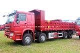 Carro de vaciado pesado del descargador del camión de Sinotruk HOWO-7 8X4