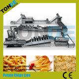 Chaîne de fabrication frite congelée commerciale de puces pourprées de patate douce