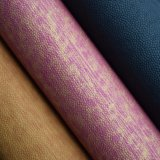 二重カラーは浮彫りにされた袋の革、総合的なPUの革を印刷した