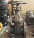 Válvula de esfera de Wcb A216 150lb com volante