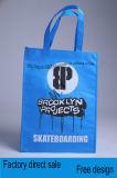 Non-Wovenファブリック上塗を施してある色刷の手持ち型のショッピング・バッグ