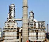 Estructura de acero de la unidad del petróleo crudo de la refinería