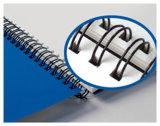 Materiales obligatorios del PVC del bucle de libro del atascamiento del metal del alambre doble del espiral