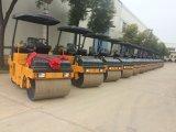 道の機械装置の工場3トンの倍の車輪の振動ローラー(YZC3A)