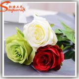 Flores artificiais falsificadas plásticas baratas do fornecedor de China para a venda