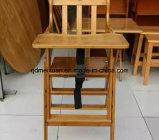 Bambus, der hohen Stuhl mit Kindern (M-X3055, faltet)