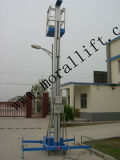Hydraulischer einzelner Aluminiummast-Aluminiumplattform-Aufzug
