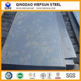 plaque Checkered en acier normale d'acier doux de GB de largeur de 1219mm