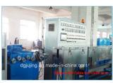 Herstellungs-Geräten-Silikon-Gel-Kabel-Strangpresßling-Zeile