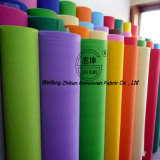 Tela colorida do Non-Woven do Polypropylene dos PP
