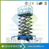 Vier 4 Rad-bewegliche hydraulische Scissor Aufzug-Plattform