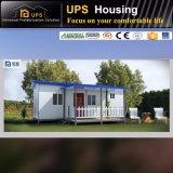 Pequeña casa movible con dos dormitorios 80sqm con los recursos y las decoraciones