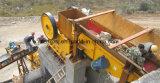 Planta do triturador de pedra para a produção agregada