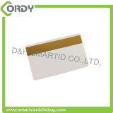 Cartões de presente de plástico em PVC em branco / cartão inteligente de listra magnética em branco