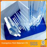 Hoja de acrílico plástica clara del plexiglás del molde de la hoja/arriba de la transparencia