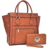 새로운 디자이너 PU 가죽에 의하여 공중을 나는 Satchel 운반물 어깨에 매는 가방 핸드백 또는 지갑