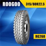 頑丈なタイヤ315/80r22.5 1200r20の放射状のトラックのタイヤ