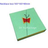 Caja de embalaje del papel cosmético del rectángulo del rectángulo de regalo de los rectángulos de joyería de la cartulina Jy-Jb95