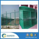 2.1m X2.4m Stangen-Oberseite-Sicherheits-Stahlzaun-Stahlfechten