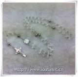 Rosari Colourful di plastica dei branelli, branello religioso del rosario, rosario (IO-cr391)