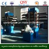 고무 지면 벽돌 만들기 기계 또는 기계 또는 타이어 Recyling 가황 선