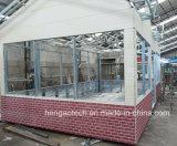 Revestimiento del panel de pared exterior para la casa prefabricada del chalet