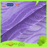 De nylon Stof van het Netwerk van de Rek van Spandex van de Jacquard Breiende voor Ondergoed