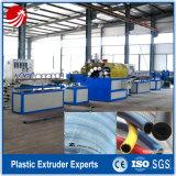 Linha de produção reforçada fibra da extrusão da mangueira do PVC