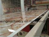 Riga di marmo artificiale dell'espulsore dell'espulsione di cartello del PVC di lavorazione della Cina