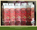 Maquinaria de enchimento de bebidas líquidas de caixa superior Gable Top (BW-1000)