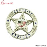 Custom Zinc Alloy Leather Military Lapel Pin (LM1023)