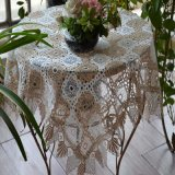 Tablecloth cheio do laço St183
