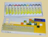 Peinture acrylique de couleur de qualité réglée pour la peinture