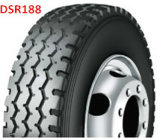 Pneumático dobro 385/65r22.5 do caminhão dos pneus radiais 315/80r22.5 da estrada
