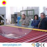 Transformación de vidrio Maquinaria / plana y curva de vidrio templado del horno