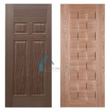 自然な木製のベニヤによって形成されるHDF MDFのドアの皮/ドアのパネル