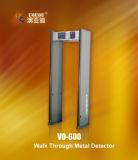 金属探知器VO600によるマルチゾーンの歩行